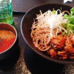 高知市 GOKU-TUBUSHI(ごくつぶし)のつけSOBAは独特・美味・大盛り